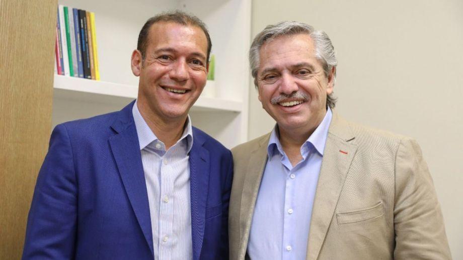 Gutiérrez y Fernández volverán a reunirse en Villa la Angostura. Foto Archivo: gentileza