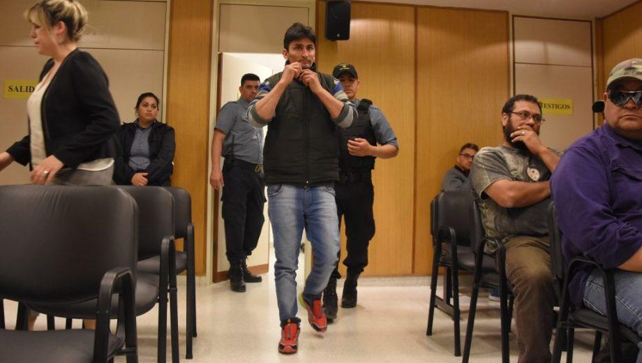 Miguel Baez antes de ser juzgado.