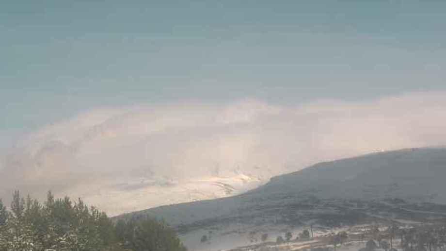Esta mañana en el volcán Copahue se registró un nuevo sismo con 14 eventos menores posteriores. (Gentileza).-