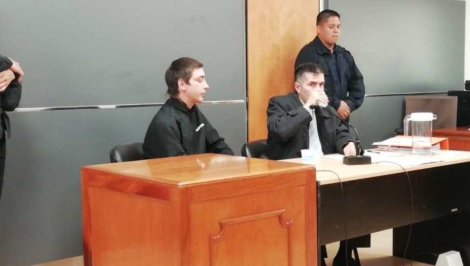 Matías Baldebenito fue declarado culpable de homicidio criminis causa, y solo se contempla la prisión perpetua. Foto: Agencia Cipolletti