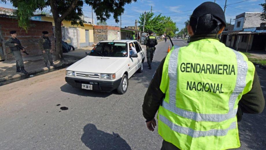 En Plottier, los controles de Gendarmería comenzarán la semana próxima. (Gentileza).-
