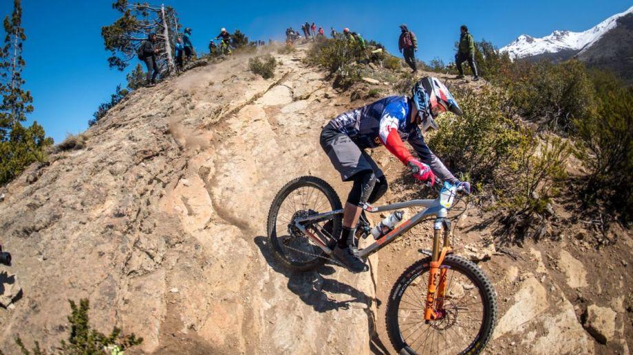 El chileno Felipe Agurto ganó en la South American Continental Enduro Series que se disputó el cerro Catedral. Foto: gentileza