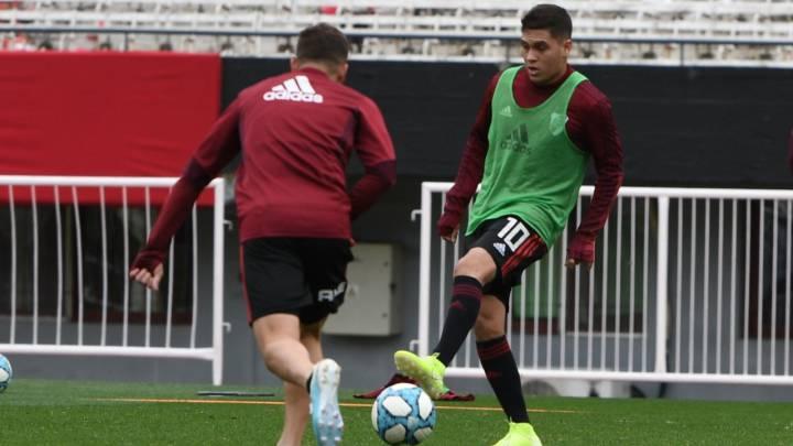 Juanfer podría tener minutos contra Almagro en Mendoza.