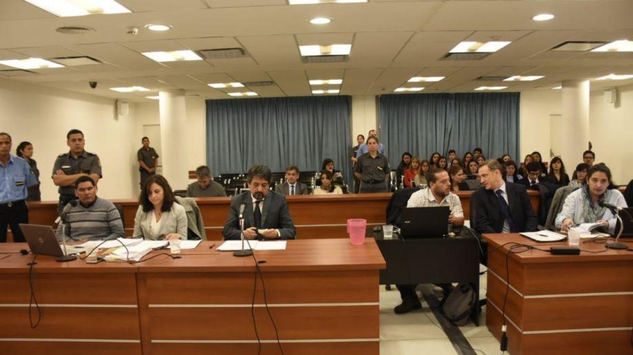 El imputado es el gendarme retirado Diego Tolaba, quien era esposo de Delia Aguado y padre de sus tres hijos. (Foto: Florencia Salto)