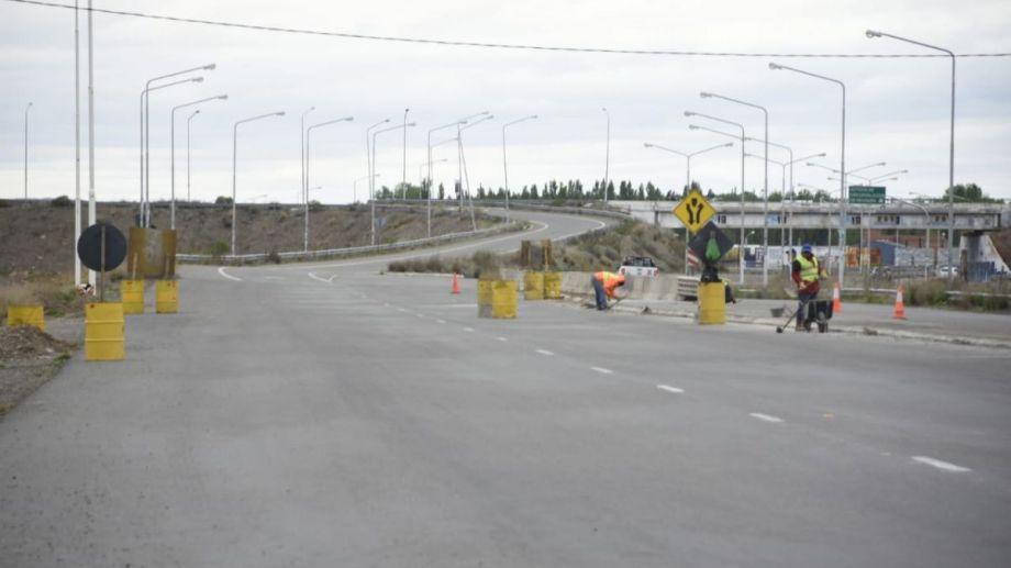 Vialidad Nacional solicitó precaución porque hay sectores que aún están en obra. Foto: Juan Thomes.