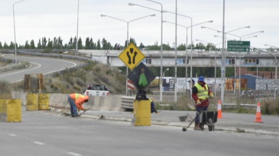 Vialidad Nacional solicitó precaución porque todavía hay sectores en obra. Foto: Juan Thomes)