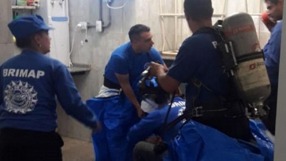 Uno de los empleados del supermercado los halló desvanecidos y llamó a emergencias - Foto: lmdiario.com.ar