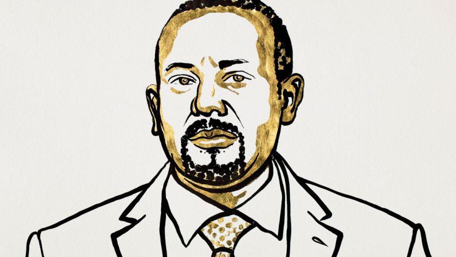 El primer ministro etíope, Abiy Ahmed, fue premiado con el Nobel de la Paz.