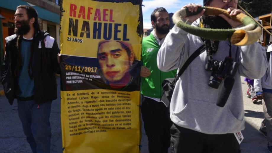 El homicidio de Rafael Nahuel ocurrió la tarde del 25 de noviembre de 2017 en Villa Mascardi y sigue impune. (archivo)