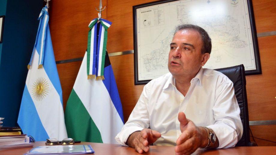 El intendente de Viedma Pedro Pesatti,pidió a los vecinos y las vecinas que extremen los cuidados. Foto Archivo