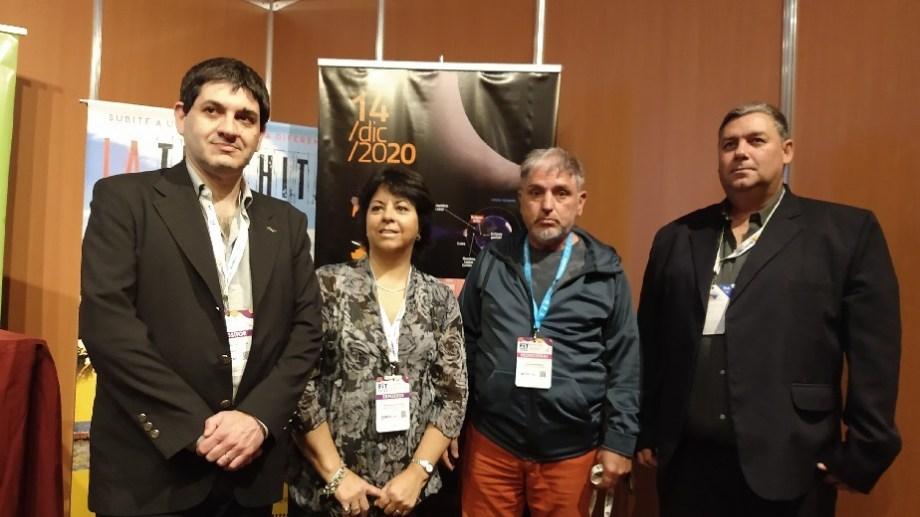 Funcionarios rionegrinos participaron en la Feria Internacional de Turismo.