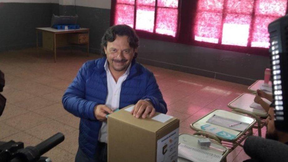 Sáenz votó este domingo. Foto: gentileza Ámbito Financiero.-
