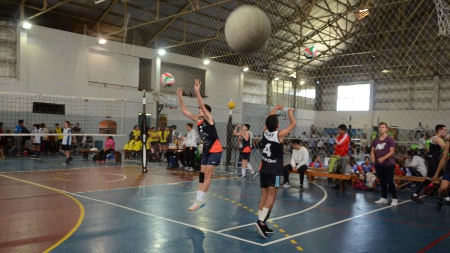 El gimnasio municipal 1 es uno de los escenarios en los que se desarrollan los Juegos.  Foto: Alfredo Leiva