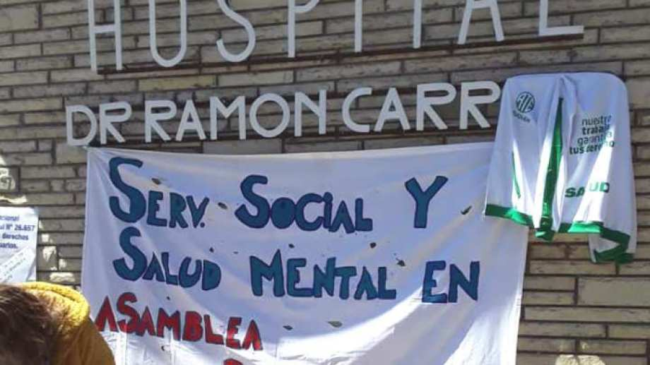 El hospital de San Martín de los Andes es uno de los que reclama más personal. (Gentileza FM del Lago).-