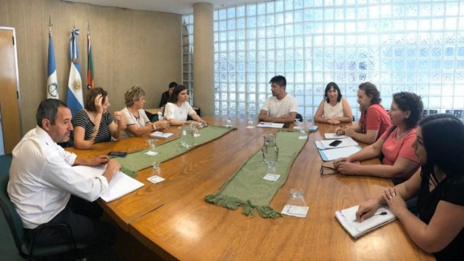 El encuentro se desarrolló en el CPE.  Foto: Gentileza