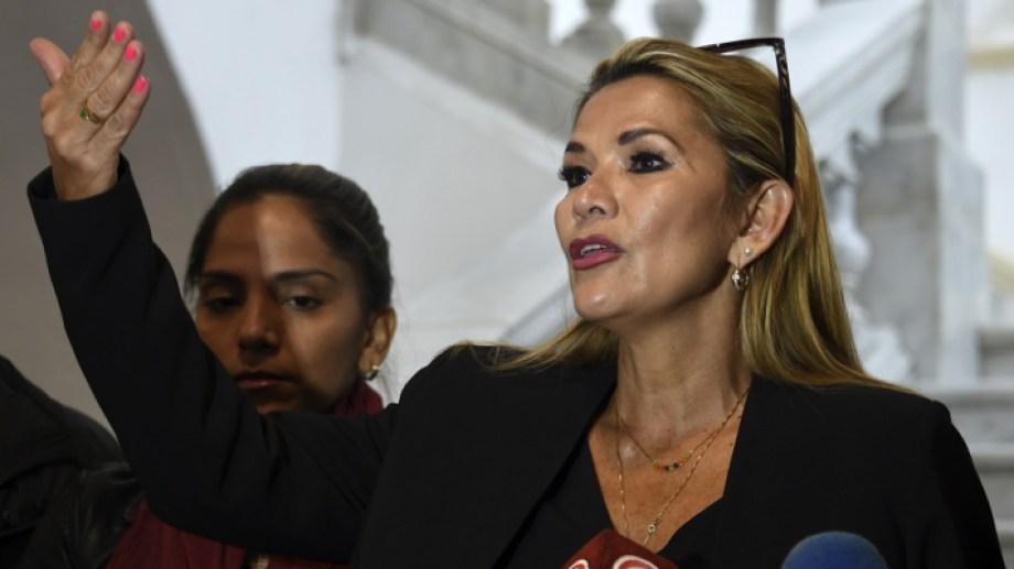 Jeanine Añez es opositora al MAS, el partido de Evo Morales. (Foto: AIZAR RALDES para AFP)