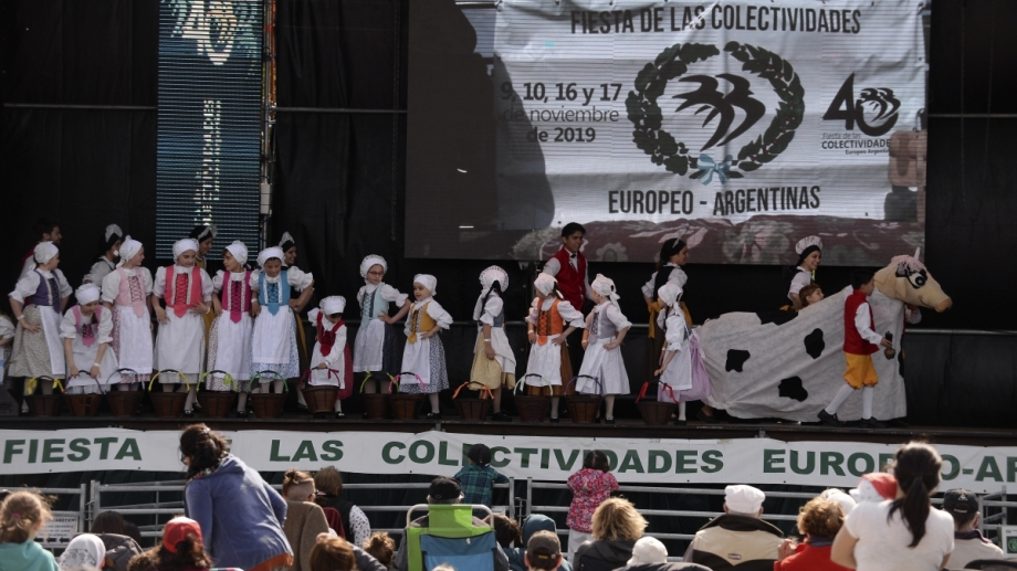 La Fiesta de las Colectividades Europeo Argentinas cerró su 40° edición. Foto: Alfredo Leiva