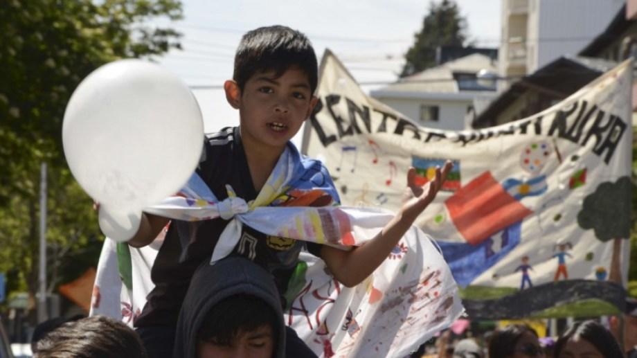 Este año se limitan las actividades presenciales pero se mantiene vigente la semana por los derechos de la niñez. Archivo