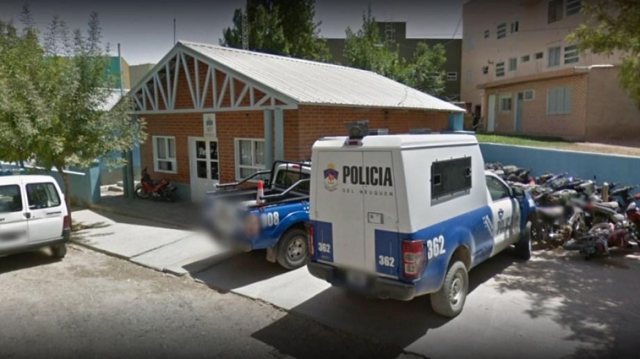 El sospechoso del homicidio se entregó voluntariamente en la comisaría 21 del barrio Melipal. (Captura).-