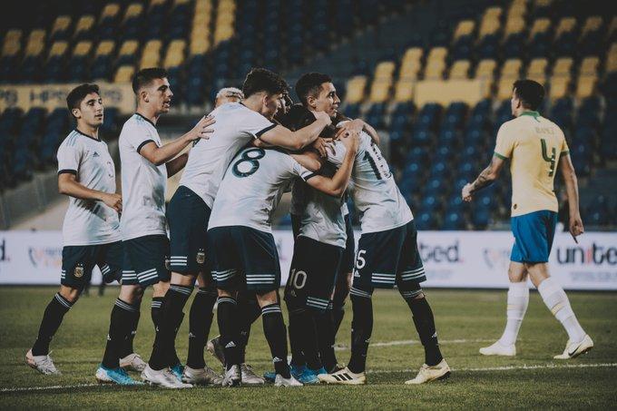 Otra victoria ante Brasil, esta vez gentileza del seleccionado Sub-23 - Diario Río Negro