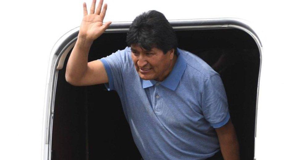 El ex presidente boliviano permanece exiliado en México, desde hace una semana.-