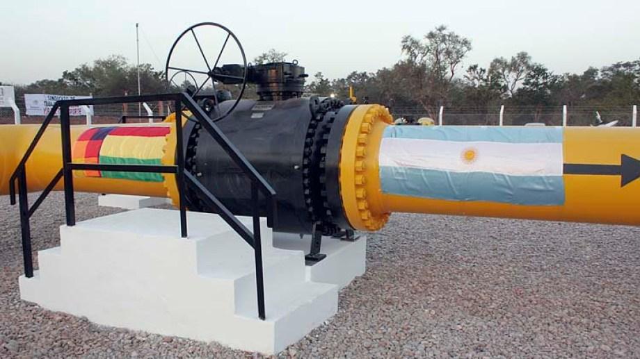 El gas boliviano representó hoy casi el 10% del consumo nacional.