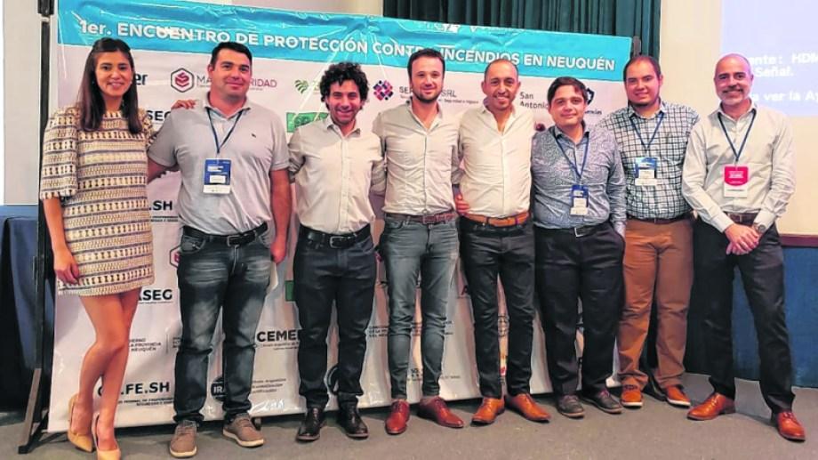 La Cámara Argentina de Protección contra Incendios (Cemera) participó del encuentro.