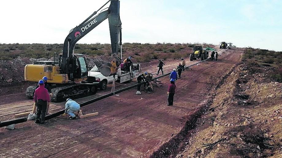 La obra mejorará el servicio en muchas localidades y lo brindará por primera vez en otras. (Foto: José Mellado)