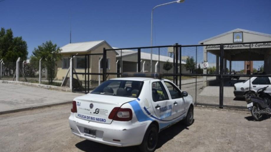 El imputado está detenido en el Penal 5 de Cipolletti