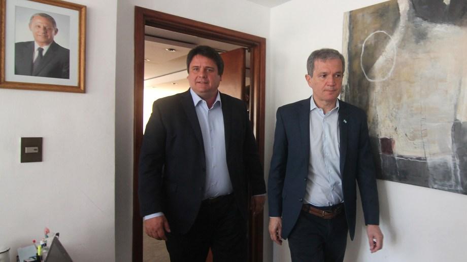 Mariano Gaido y Guillermo Monzani. Foto: Archivo.