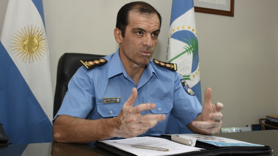 Ruben Tissier, el jefe de la Policía de Neuquén, es investigado por la fiscalía. (Foto: Archivo.-)
