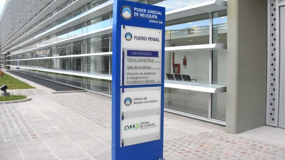 La Ciudad Judicial de Neuquén estará casi vacía. (Archivo)