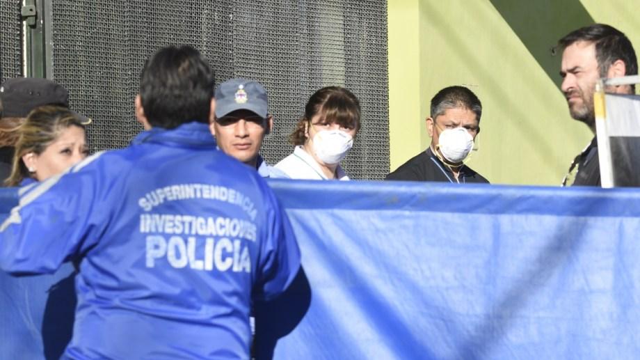 El cuerpo de Gauna fue hallado en la madrugada del 25 de septiembre Foto: Archivo Juan Thomes