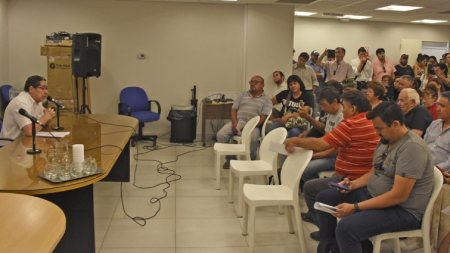 El informe de la auditoría del Instituto Municipal de Previsión Social de Neuquén se presentó esta mañana. (Foto: Juan Thomes)