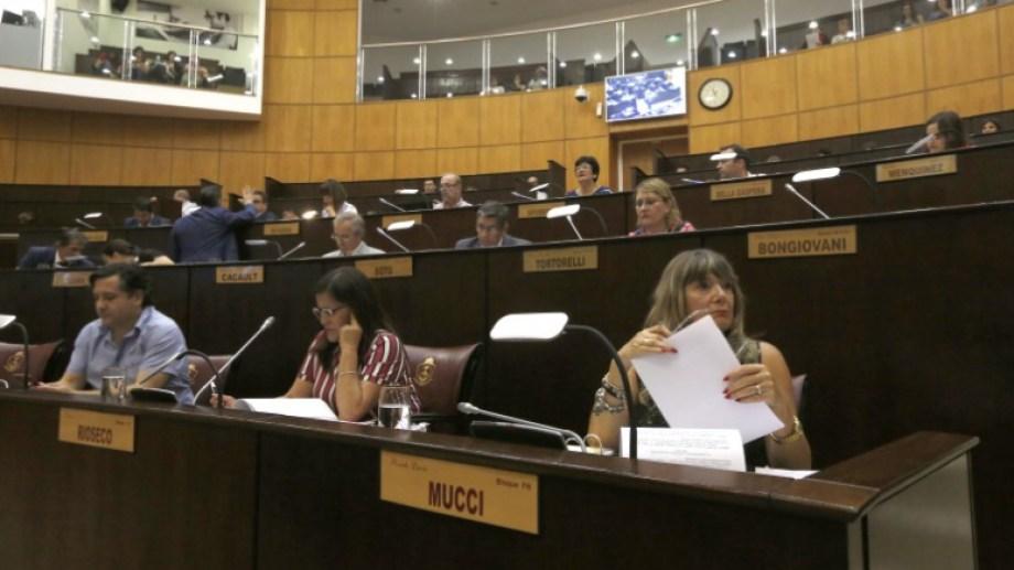 La Legislatura le dejó aprobado el presupuesto para el año próximo a Omar Gutiérrez. Foto Juan Thomes