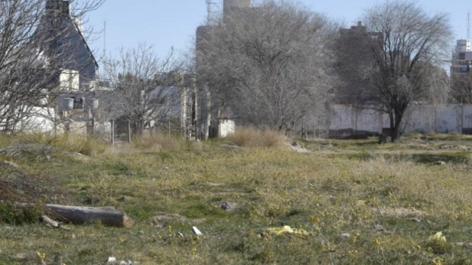 El predio donde funcionaba la penitenciaría federal. Foto: Archivo Mauro Pérez