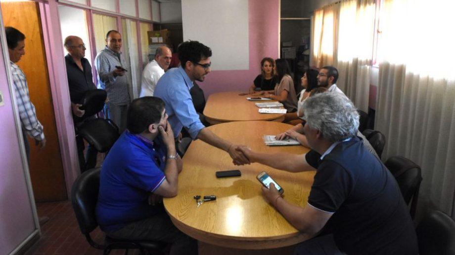 Los representantes de la firma 18 de Mayo se retiraron de la mesa de negociación y no hubo acuerdos. (Foto: Andrés Maripe)