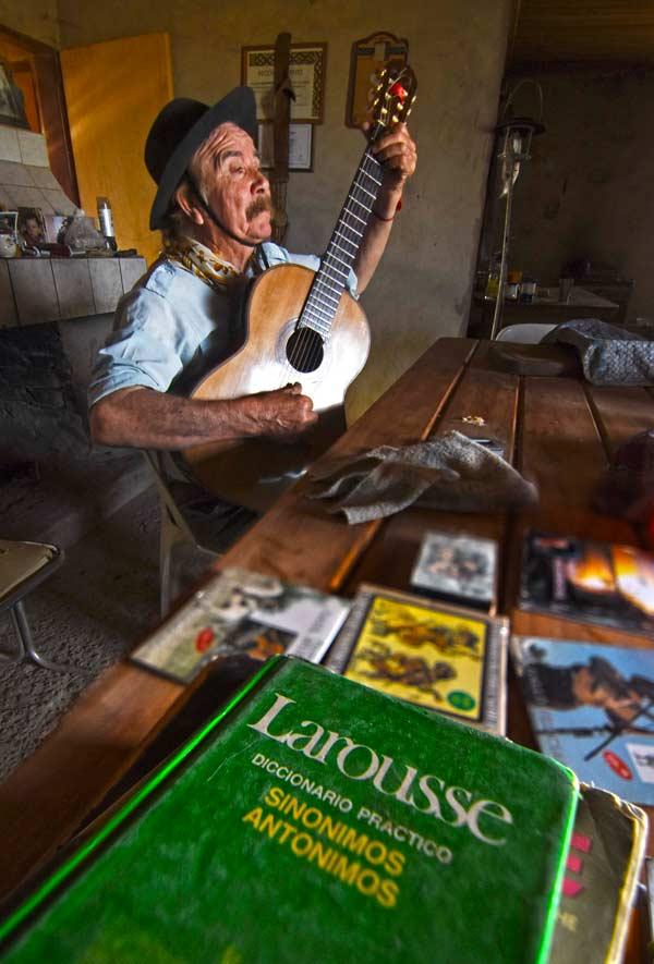 Saúl Huenchul - Foto: Gonzalo Maldonado