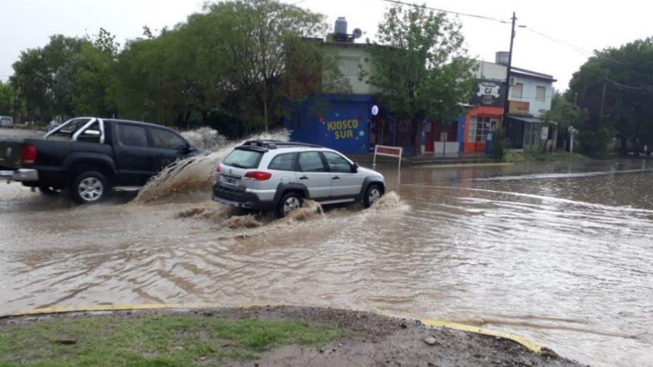 La esquina de Vinter y Los Fresnos, en Stefenelli. (Foto: Carlos Castillo)
