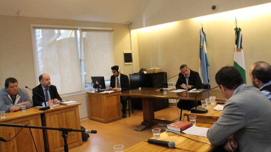 Hoy se realizó la audiencia de formulación de cargos contra el empresa Horacio Souza.