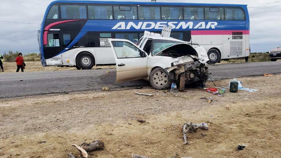 Sólo hubo dos heridos que se encuentran fuera de peligro. Foto: Martín Brunella.