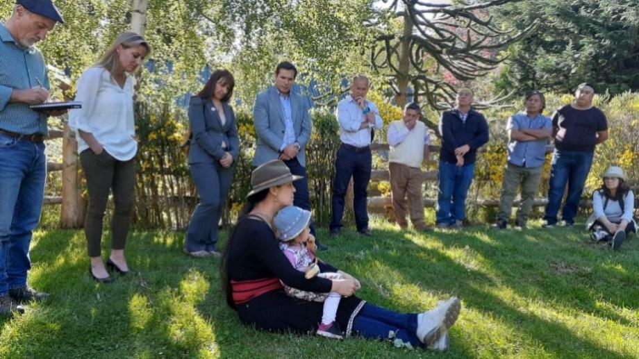 El proceso de mediación penal inició ayer en Villa La Angostura. (Foto: Gentileza.-)