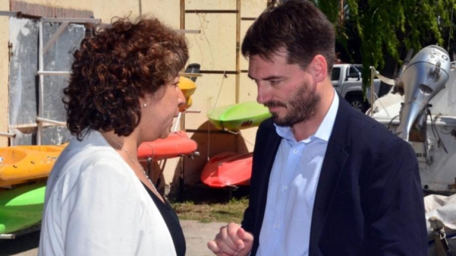 Buteler confirmó quienes lo acompañarán en el Ministerio de Gobierno. Foto: Marcelo Ochoa