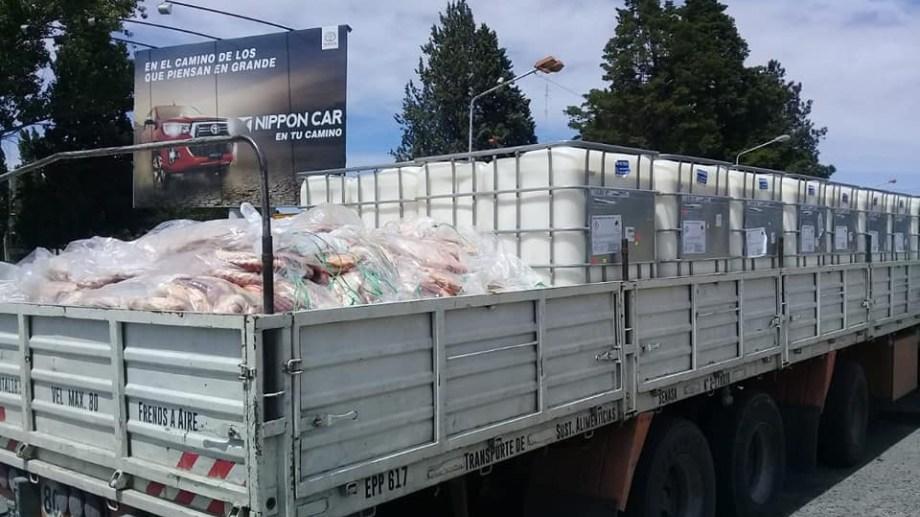 La semana pasada se secuestraron quesos y salamines que venían de Córdoba. Foto: Gentileza