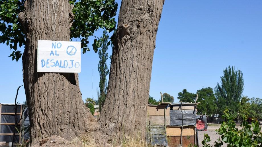 La toma en el Barrio Confluencia.Foto: Archivo Florencia Salto