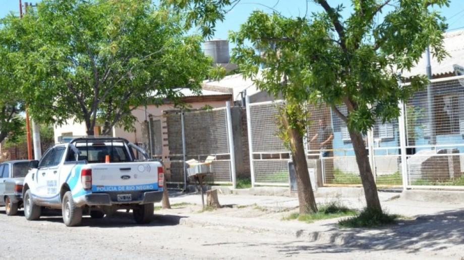 El hecho ocurrió en el barrio Anai Mapu de Cipolletti.