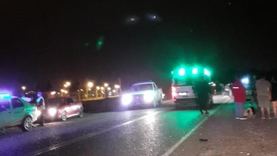 Un joven murió en la Ruta 6 tras ser arrollado por un auto