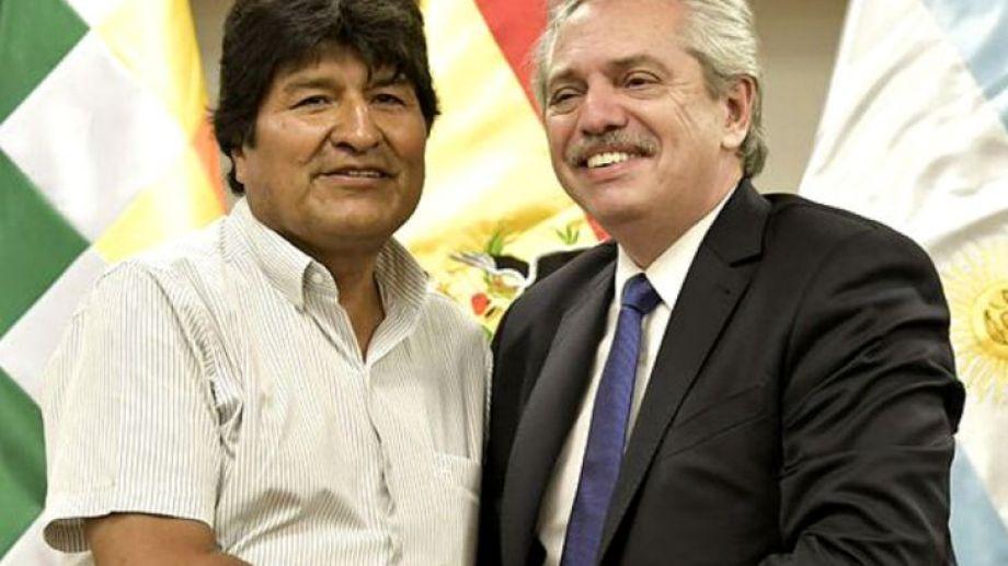 Fernández y Morales tienen un buen vínculo político.-