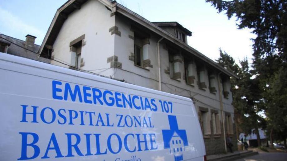 El joven permanece internado en el hospital zonal de Bariloche. Foto: archivo