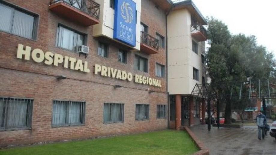 El Hospital Privado Regional de Bariloche, los herederos de un médico y una aseguradora fueron condenados a indemnizar a una paciente que contrajo HIV. Foto: archivo
